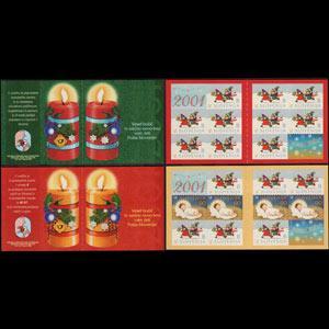 SLOVENIA 2000 - Scott# 439a-40a Booklet-Christmas NH