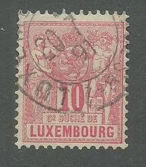 Great Starter Collection of Early Luxembourg Used Stamps