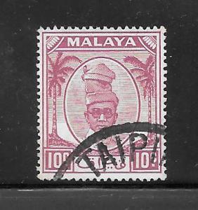 Malaya-Perak #111 Used Single