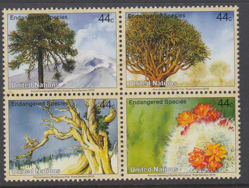UN New York 1002a Trees MNH VF