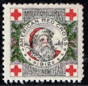 US STAMP 1912 MINT/OG CHRISTMAS SEAL STAMP