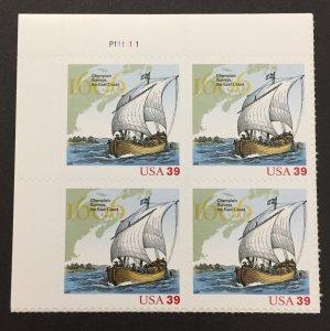 U.S. 2006 #4073 PB, Champlain, MNH(see note).