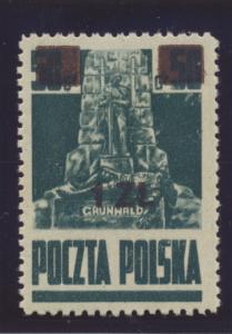 Poland Stamp Scott #364, Mint Hinged - Free U.S. Shipping, Free Worldwide Shi...