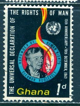 Ghana; 1963: Sc. # 160: O/Used Single Stamp