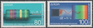 Germany #1829-30  MNH VF (SU1311)