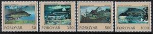 Faroe Is. 212-5 MNH Set - Paintings