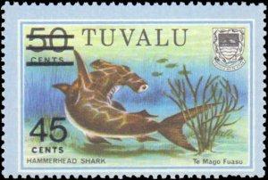 Tuvalu #150, Complete Set, 1981, Marine Life, Never Hinged