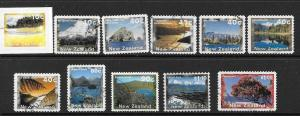 NEW ZEALAND SG1983a/91b SCENERY S/A FINE USED