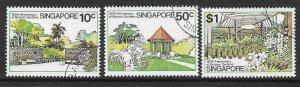 SINGAPORE SG361/3  1979 BOTANIC GARDENS FINE USED