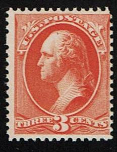 Scott #214 Fine-OG-NH. SCV - $180.00