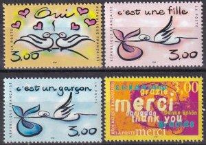 France #2709-12  MNH CV $5.00 (Z7897)
