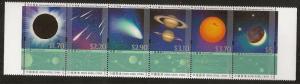 Hong Kong Astronomical Phenomena se-tenant stamp set MNH 2015