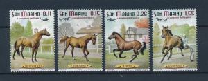 [57794] San Marino 2003 Horses Equestrian MNH