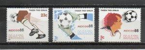 Malta 679-681 MNH