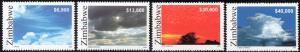 Zimbabwe - 2005 Cloud Formations Set MNH** SG 1156-1159