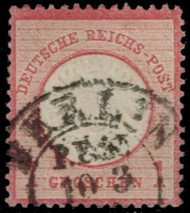 Germany #17 Imperial Eagle; Used (2Stars)