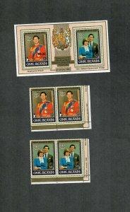 Cook Islands Sc#987-989 M/NH/VF, Cv. $49