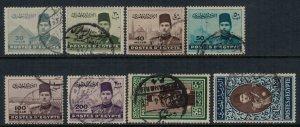 Egypt #234-40  CV $10.75