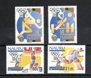 Nauru 437-440 MNH