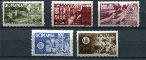 Romania 1945 Mi 903-907 MH 9647