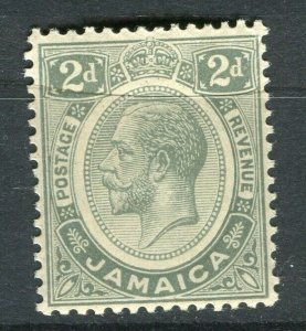JAMAICA; 1912 early GV issue fine Mint hinged 2d. value