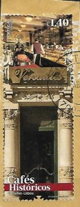 Spain caffe versailles used on paper vf