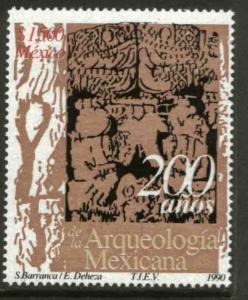 MEXICO 1669, Mexican Archeology Bicentennial. Mint, NH. F-VF. (69)