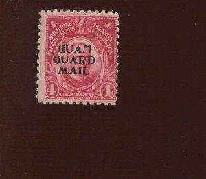 GUAM  Guard Mail M2 Overprint  Mint  Stamp  (Bx 528)