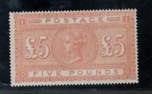 Great Britain #93 (SG #137) Very Fine Mint Full Original Gum Lightly Hinged