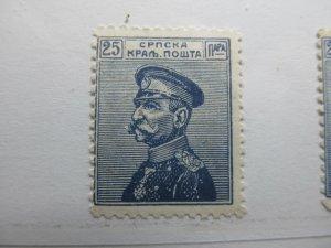 Serbien Serbia 1914 25p Fine MNH** A5P18F388