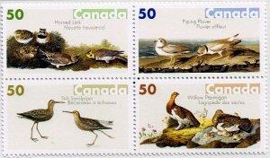 Canada 2005 , Audubon Birds block/4 MNH # 2098a