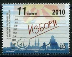 098 - MACEDONIA 2010 - Multiparty Election - **MNH Set