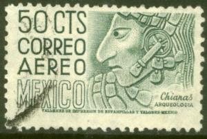 MEXICO C193, 50c 1950 Definitive wmk 279 Used (840)