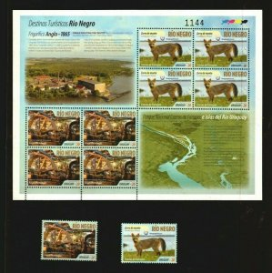 Tourist destiny industrial revolution machine Liebig fox map URUGUAY 2016 stamps