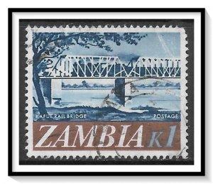 Zambia #49 Railroad Bridge Used