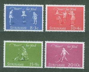SURINAM/SURINAME 1964 MNH SC.B108/11 Child Walfare