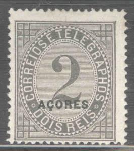 Azores Scott P3c MNG perf 13.5 Newspaper stamp