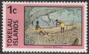 Tokelau Islands 49 Canoe Making 1976