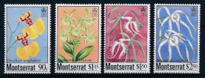 [62689] Montserrat 1985 Flora Flowers Blumen Orchids MNH
