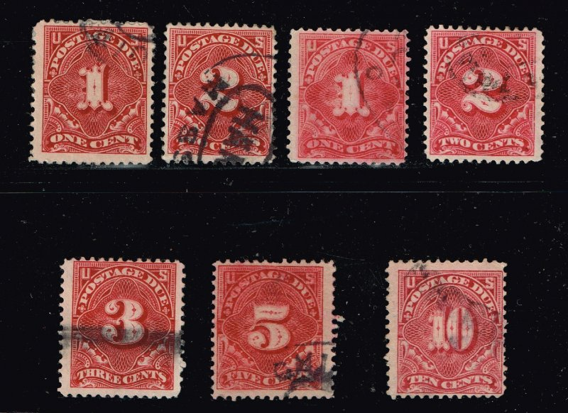US STAMP BOB POSTAGE DUE P12. USED STAMP COLLECTION LOT  #4