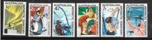 Australia Antarctic Territory #L8-L13     (MNH) CV $8.25