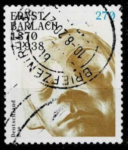 Germany 2020, Michel# 3521 used Ernst Barlach, self-adhesive