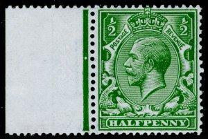 SG352 SPEC N14(7), ½d deep bright green, NH MINT. Cat £10.