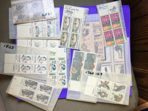 US Blocks MNH Lot 12 Blocks -  FV $5.00+