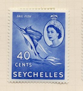 Seychelles 1957 Early Issue Fine Mint Hinged 40c. NW-99405