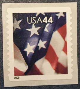 US MNH #4395 Coil Single American Flag SCV $1.25