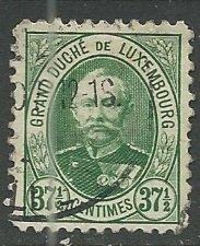 Luxembourg ---  Scott # 65 - Used