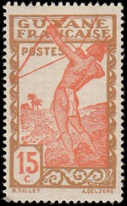 French Guiana Scott 115 Archer - MH