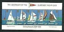 Guernsey 1991 Ships Strip of 5v Scott 463a MNH