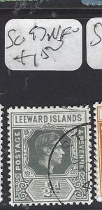 LEEWARD ISLANDS (P1710B) KGVI   1/2D   SG 97   VFU